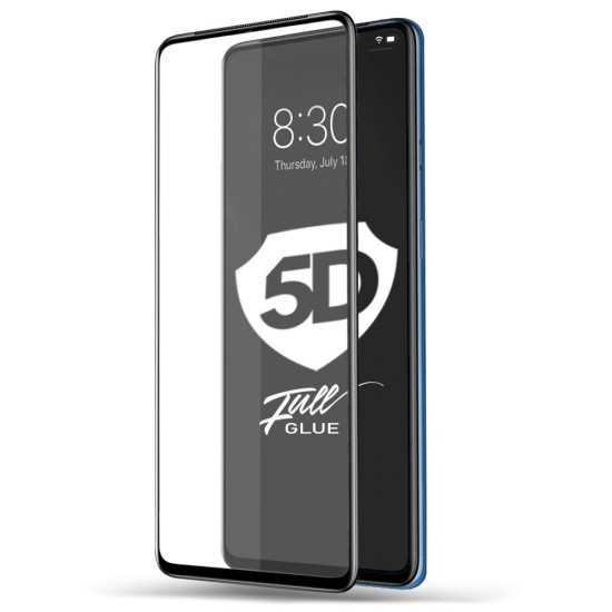 Folie Sticla 5D pentru iPhone 6 Plus Alb