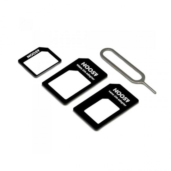 Set 3 adaptoare nanoSIM  - microSIM - SIM