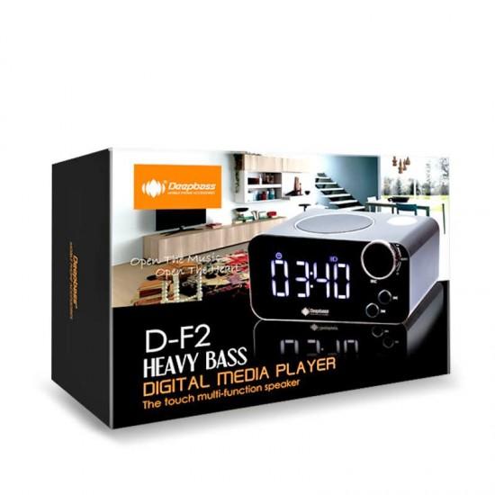 Boxa SMART portabila Bluetooth Deepbass D-F2 - Argintiu