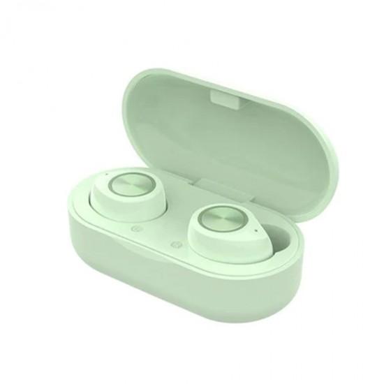 Casti stereo In-Ear Wireless Bluetooth TW60 - Verde