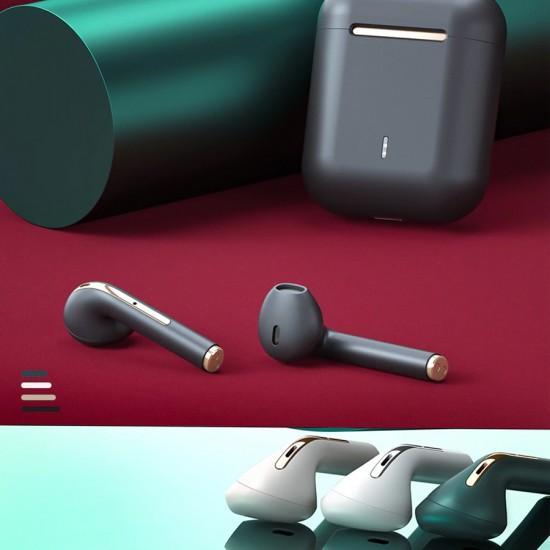 Casti stereo In-Ear Wireless Bluetooth TWS J-18 - Negru