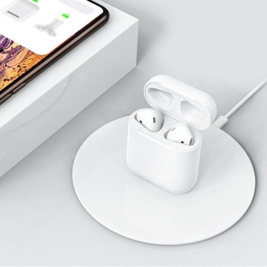 Casti stereo In-Ear Bluetooth HQ - cutie incarcare Wireless