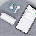 Casti stereo In-Ear Wireless Bluetooth TW50, Alb