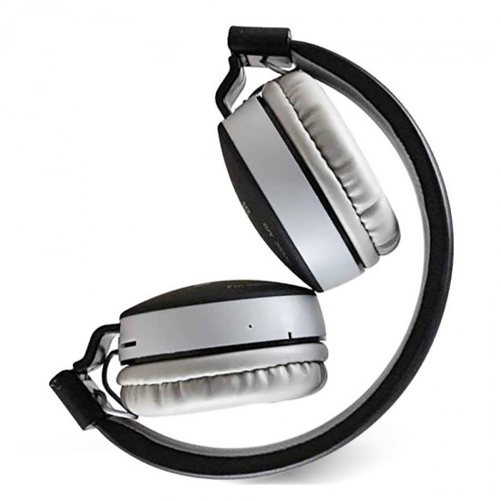Casti audio pliabile On-Ear Wireless cu Handsfree Bluetooth MS - 881A negre