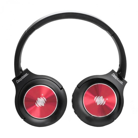Casti audio pliabile On-Ear Wireless cu Bluetooth Deepbass DW26 - Negru