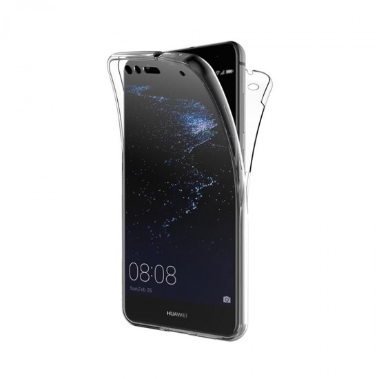 Husa Full transparenta Double Case Huawei P10 Lite