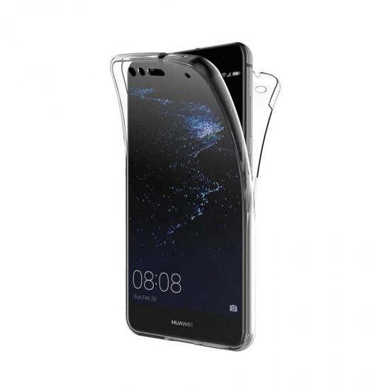Husa Full transparenta Double Case pentru Huawei P9 Plus