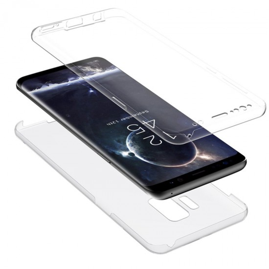 Husa Full transparenta Double Case Samsung S9
