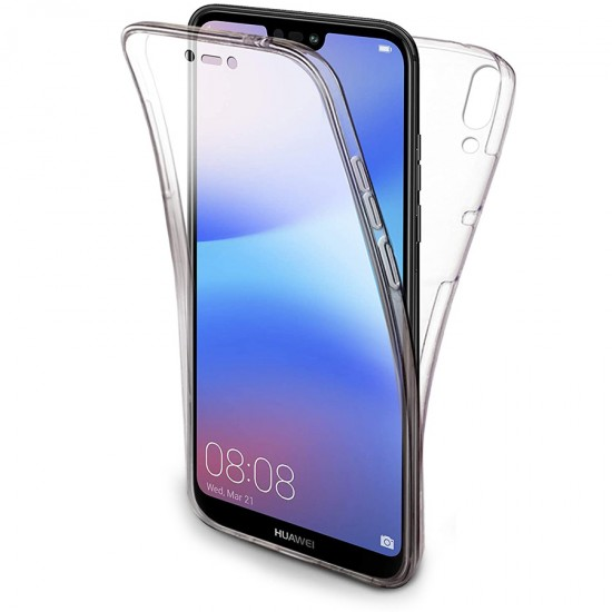 Husa Full transparenta Double Case Huawei P20 Lite