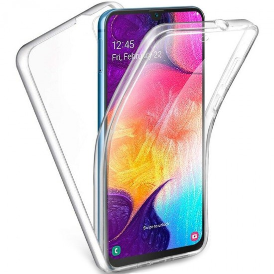 Husa Full transparenta Double Case Huawei Y7 2019