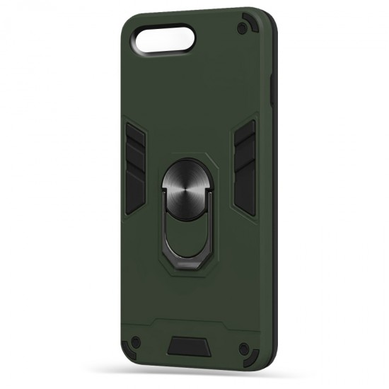 Husa spate Hybrid Case Stand iPhone 7 Plus - Army