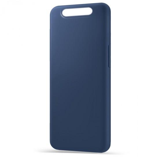 Husa Spate Silicon Line Samsung A80 Albastru