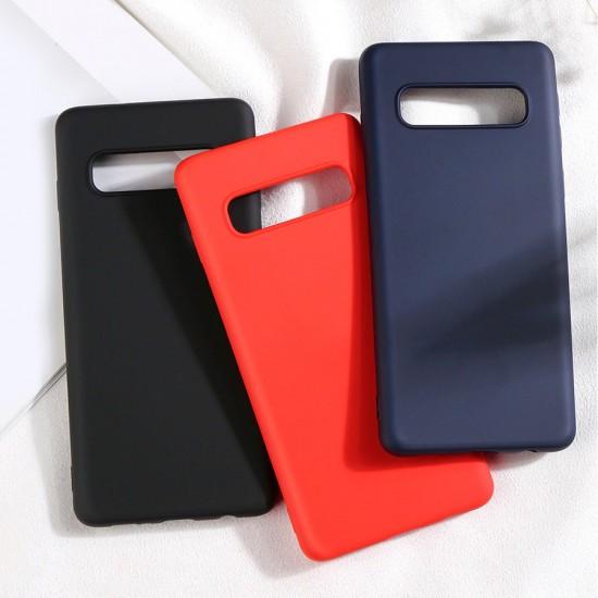 Husa Spate Silicon Line iPhone 11 Pro Max Negru