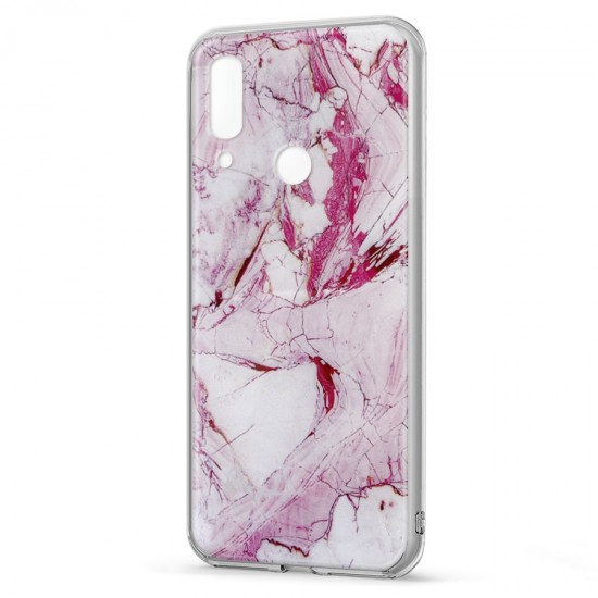 Husa spate Marble Case Huawei P Smart 2019 Roz
