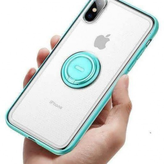 "Husa spate Baseus ""Dot bracket Case"" iPhone XS Max Turcoaz"