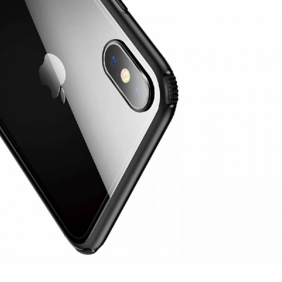 "Husa spate Baseus ""See-through"" Apple iPhone XS Negru"