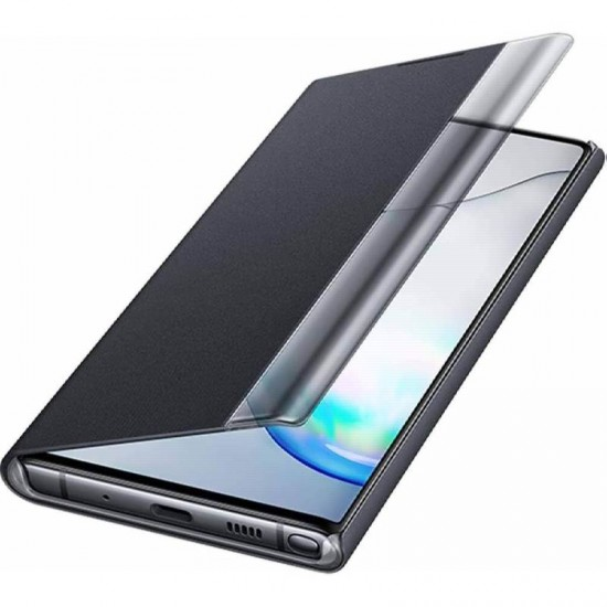 Husa Flip Case Samsung Smart Clear View Cover Samsung Galaxy Note 10 / Note 10 5G