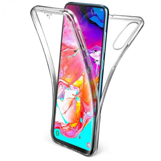 Husa Full transparenta Double Case Samsung A10