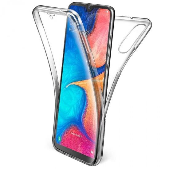 Husa Full transparenta Double Case pentru Samsung A50