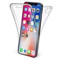 Husa Full transparenta Double Case iPhone X