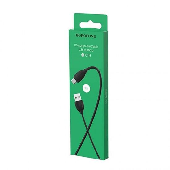 Cablu date / incarcare microUSB Borofone BX19 1m