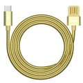 Cablu date metalic Type-C Fast Charge Remax RC-080 auriu