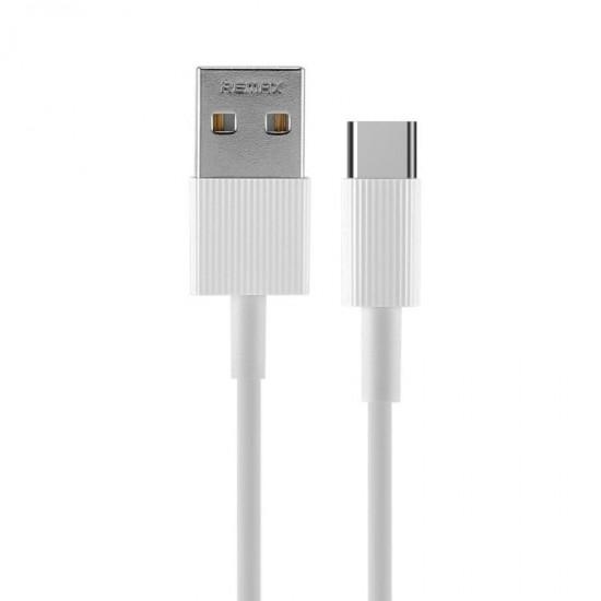 Cablu date Type-C in rola retractabila Remax Chaino Series alb