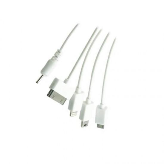 Cablu date / incarcare universal mixt cu 5 mufe