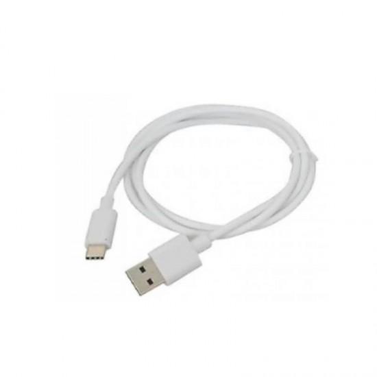 Cablu date Type-C 1m alb