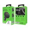 Incarcator auto Fast Charge BOROFONE BC26 cu modulator FM MP3 Player 2 x USB