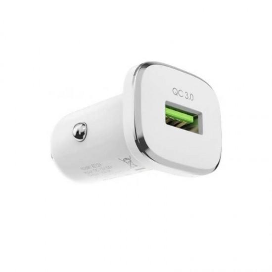 Incarcator auto Quick Charge BOROFONE BZ12A 1 x USB