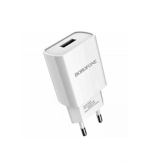 Incarcator priza 2.1A BOROFONE BA20A 1 x USB
