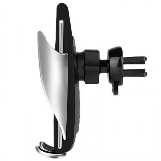 Suport telefon auto ventilatie cu incarcare Wireless Smart Sensor S5