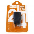 Incarcator retea universal HOCO C33A 2 x USB 2.4A