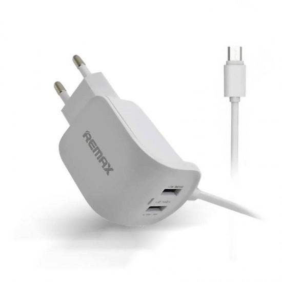 Incarcator priza 2.4A REMAX WJ-007 cu cablu microUSB