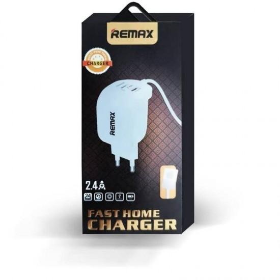 Incarcator priza 2.4A REMAX WJ-007 cu cablu Type-C