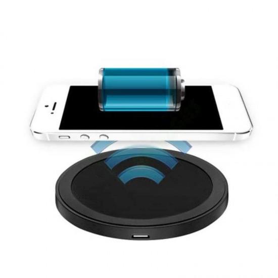 Incarcator Wireless universal QI Pad cu cablu microUSB