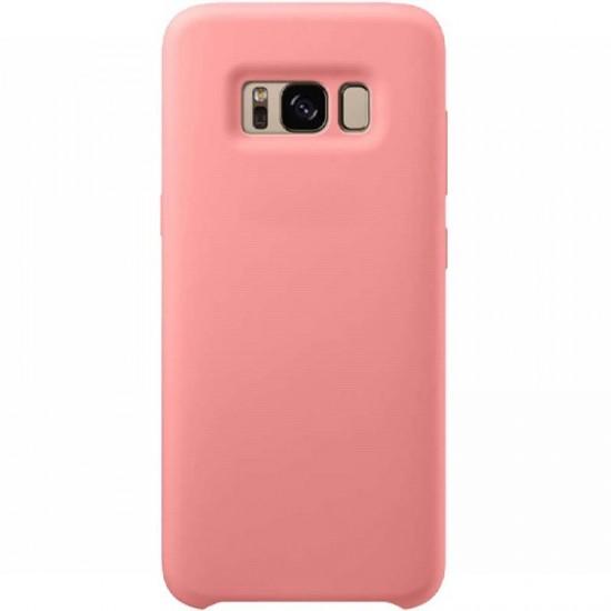 Husa spate Silicon Cover Samsung Galaxy S8 Roz - Resigilata