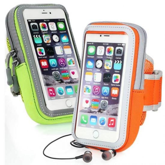 Husa sport brat RUN02 cu touchscreen telefon