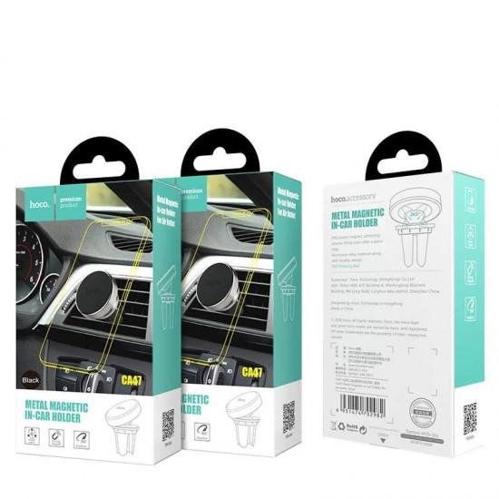 Suport telefon magnetic auto aerisire HOCO CA47
