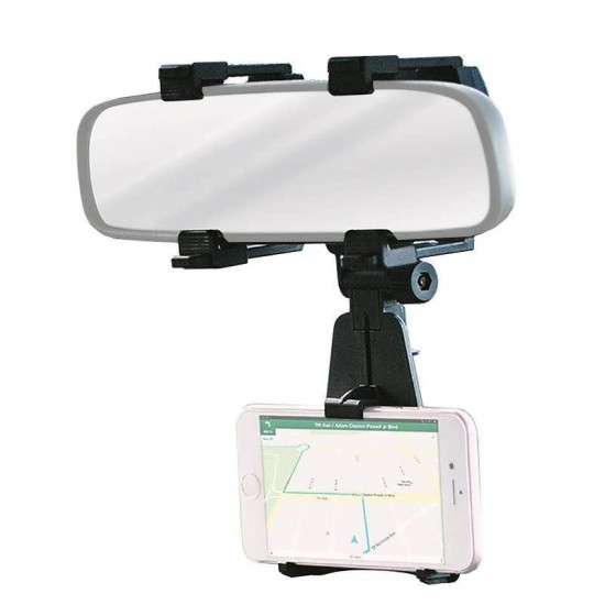 Suport telefon auto oglinda interioara Rear View