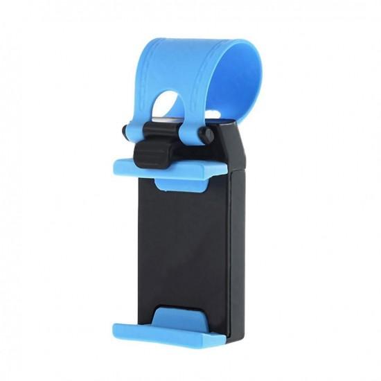 Suport telefon auto pentru volan CE01 albastru