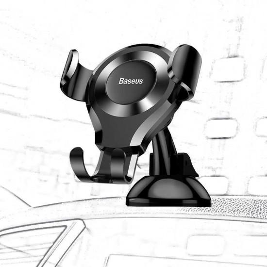 Suport telefon universal auto parbriz / bord Baseus Gravity