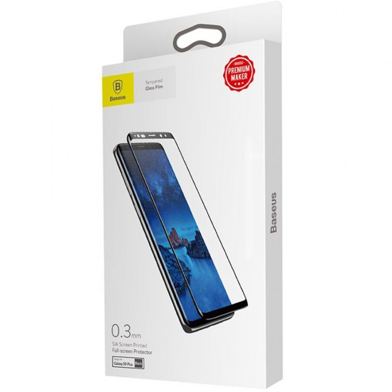 Folie Sticla 3D Baseus pentru Samsung Galaxy S9+